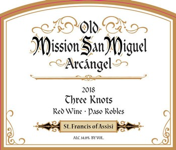 2018 Mission Red Blend